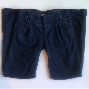 Banana Republic Classic Wide Leg Dark Blue Jeans 6